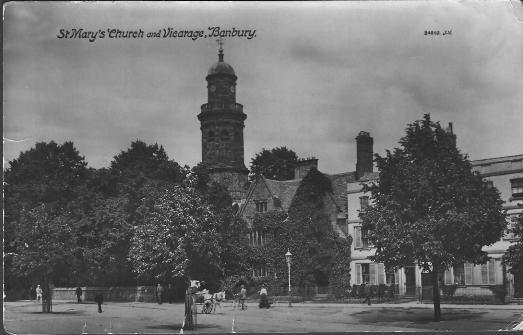 St Mary's Church and Vicarage, Banbury