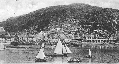 Barmouth, 1903 postcard