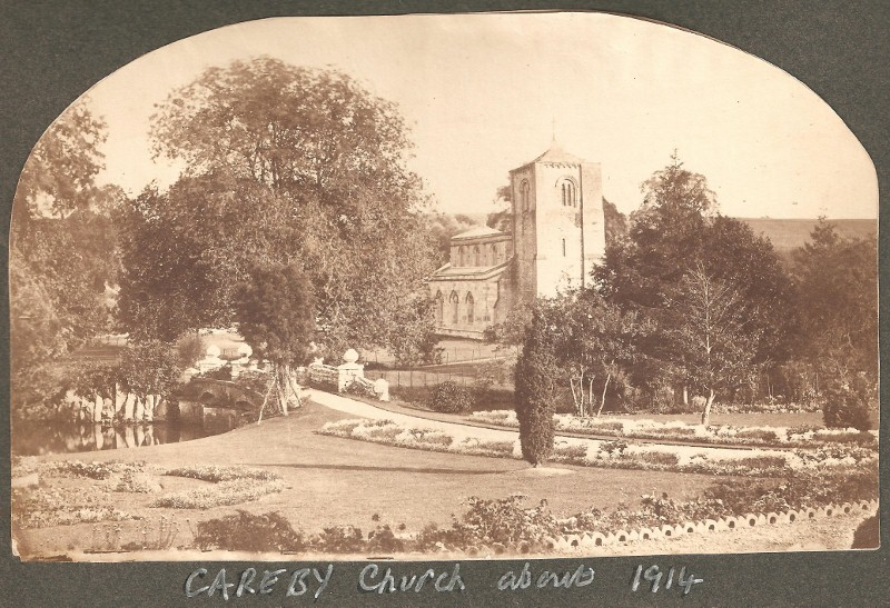 Careby Church pre-World War 1