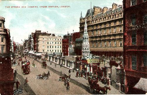 Charing Cross Station and Strand