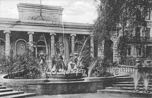 Fountain on Promenade, Cheltenham