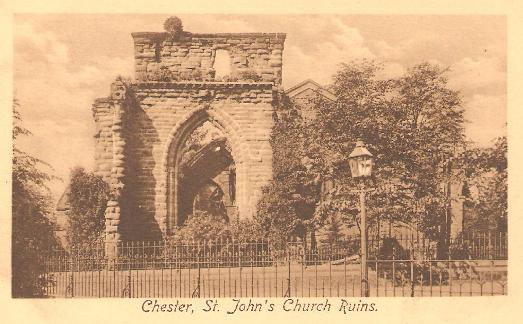 St John's Church Ruins, Chester