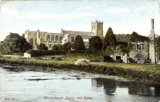 Priory and ruins, Christchurch