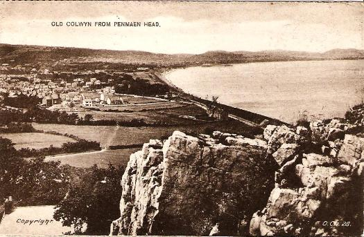 Old Colwyn from Penmaen Head