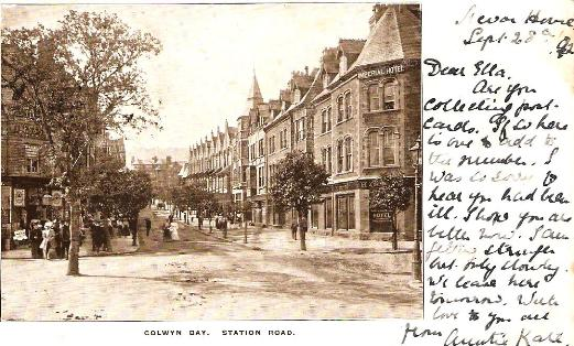 Station Road, Colwyn Bay