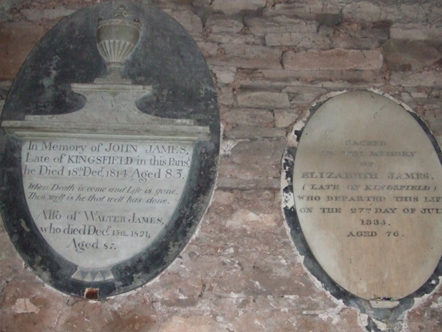 Grosmont Church James Wall Plaques