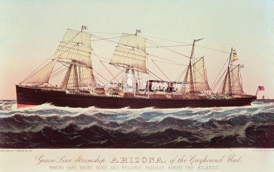 Guion Line ss Arizona