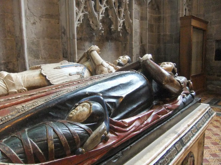 Cathedral tomb, Hereford