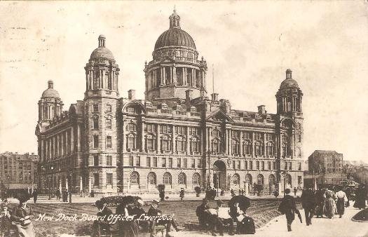 New Dock Board Offices, Liverpool