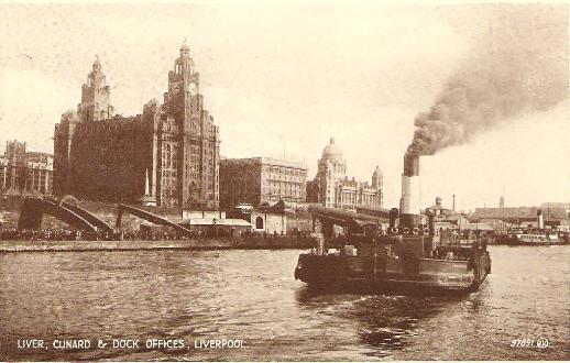 Liver, Cunard and Dock Offices, Liverpool