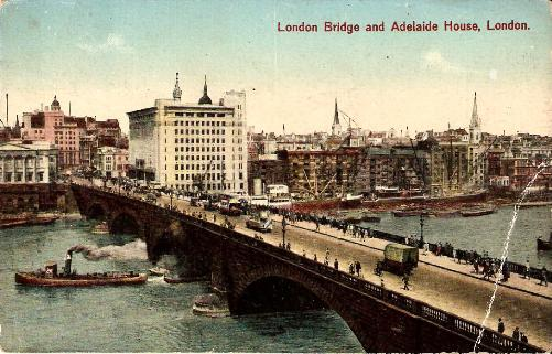 London Bridge and Adelaide House