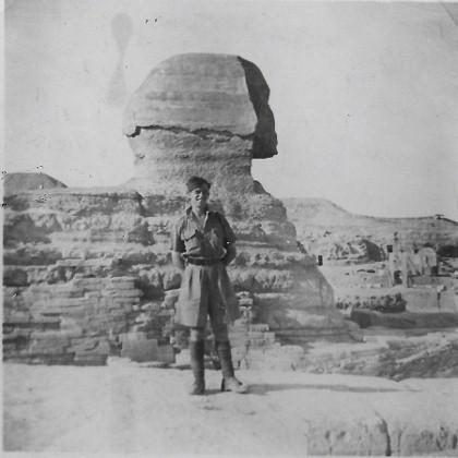 Mervyn Price and Sphinx
