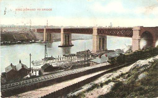 King Edward VII Bridge, Newcastle