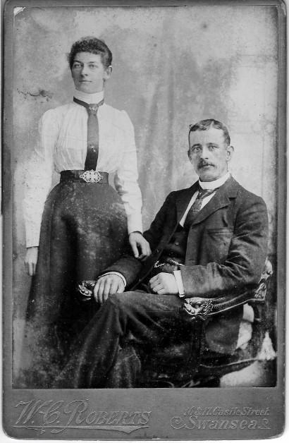 Olive and Jonathon Jones