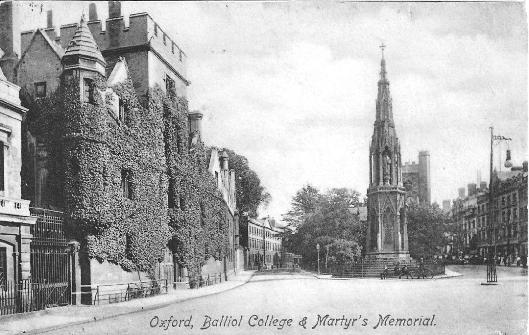 Balliol College & Martyr's Memorial, Oxford