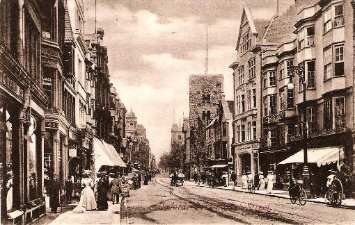 Oxford, Cornmarket Street