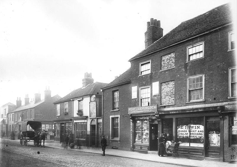 Oxford Road, Reading - 1902