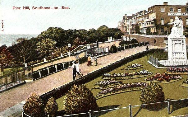 Southend-on-Sea, Pier Hill