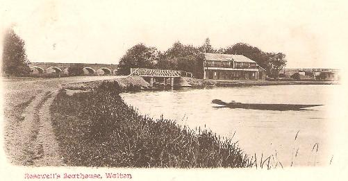 Rosewell's Boathouse, Walton