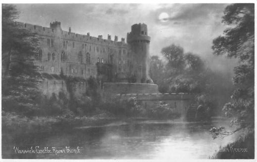 Warwick Castle River Front