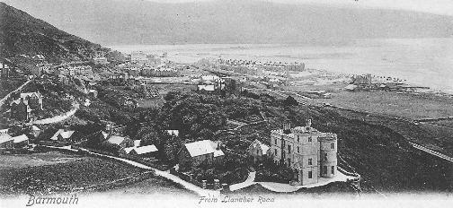 Barmouth, 1906 postcard