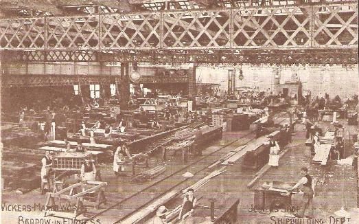 Shipbuilding, Barrow-in-Furness