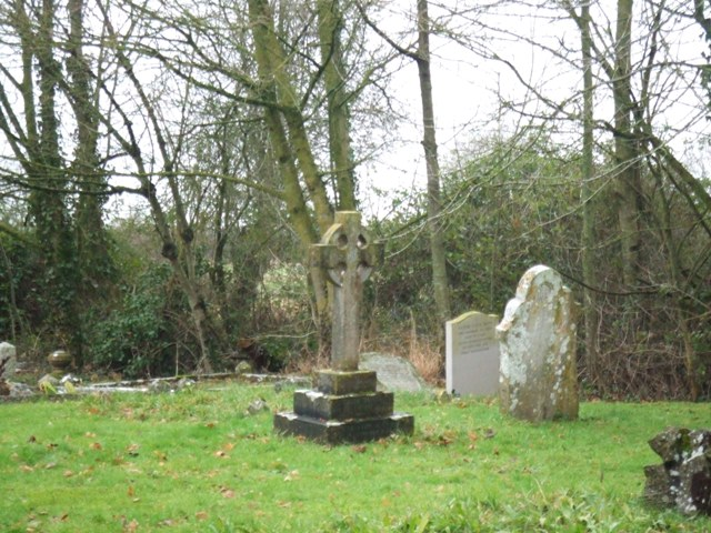 Headstones at West Lydford