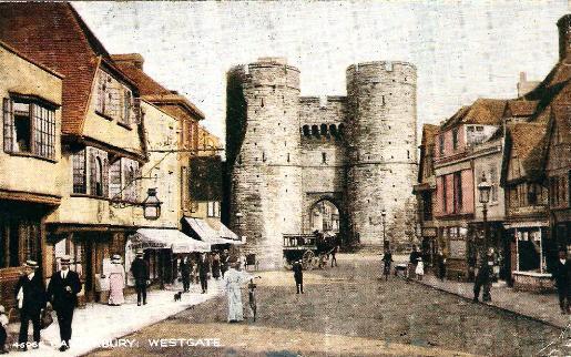 Canterbury West Gate - 1919
