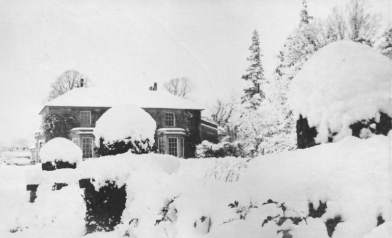 Careby Rectory in January 1918