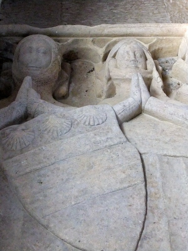 Careby Tomb detail