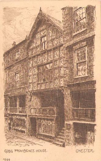 God's Providence House, Chester