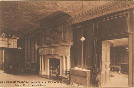 Council Chamber, Bishop Lloyd's House, Chester