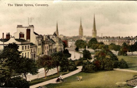 Three Spires, Coventry