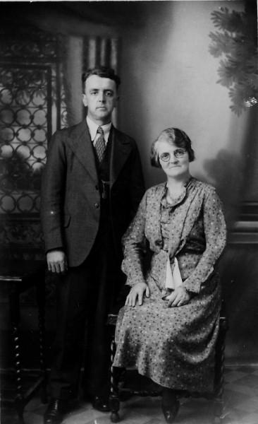 Daniel and Gwenllian Rees