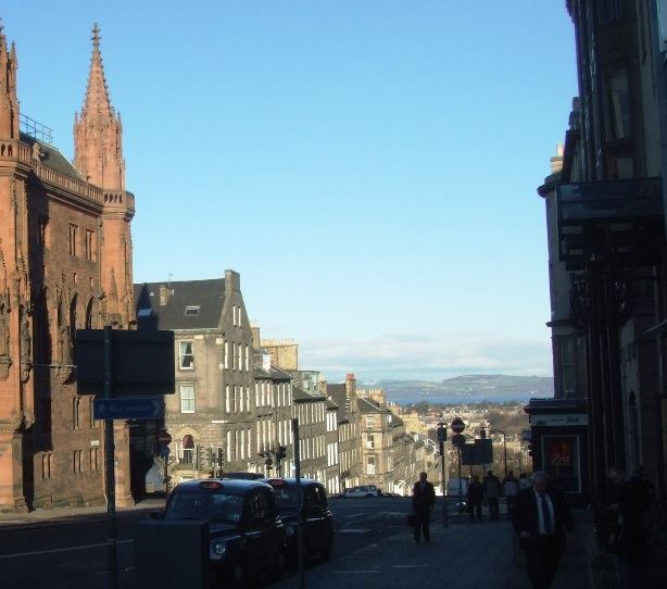 Firth of Forth from Central Edinburgh
