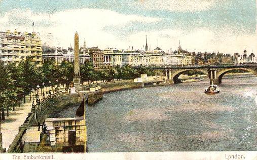Embankment and Waterloo Bridge