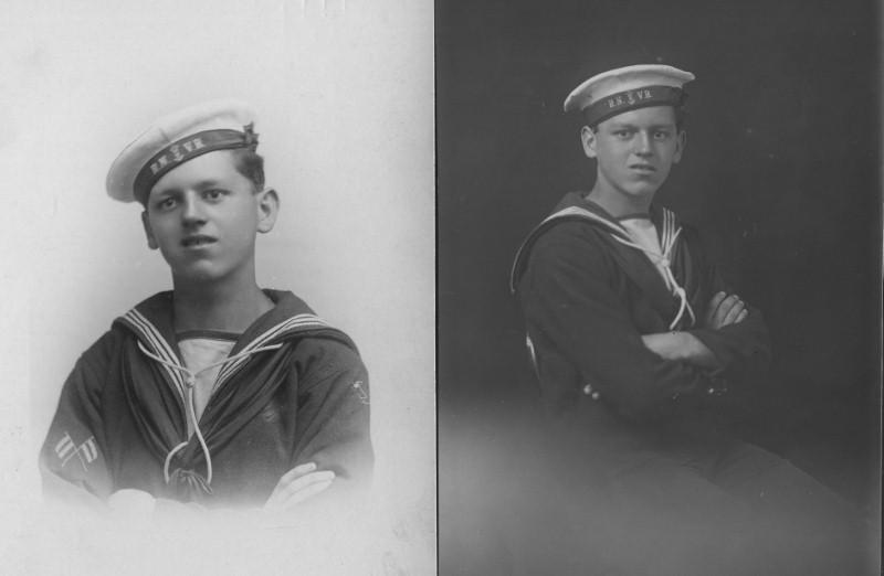 Fred Harries in World War 1
