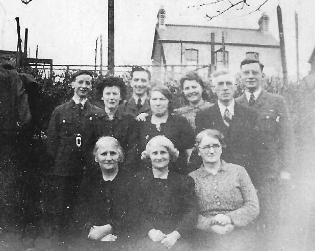 Aelycoed Garden, Wartime
