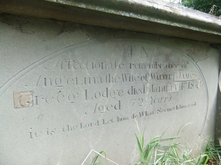 Grosmont Chest Tomb
