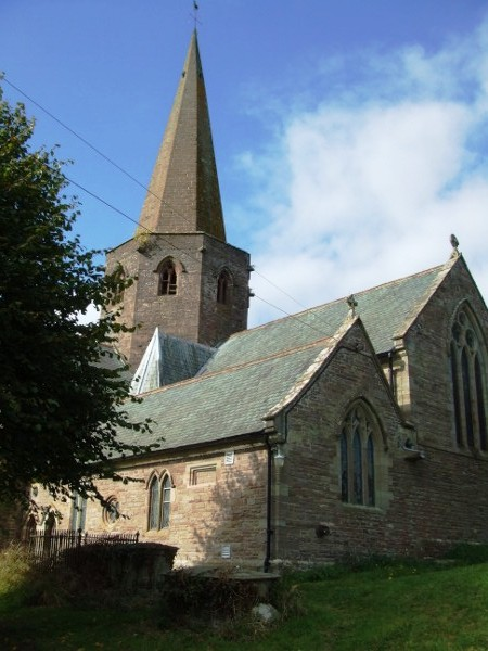 St Nicholas Church - Grosmont, Monmouthshire