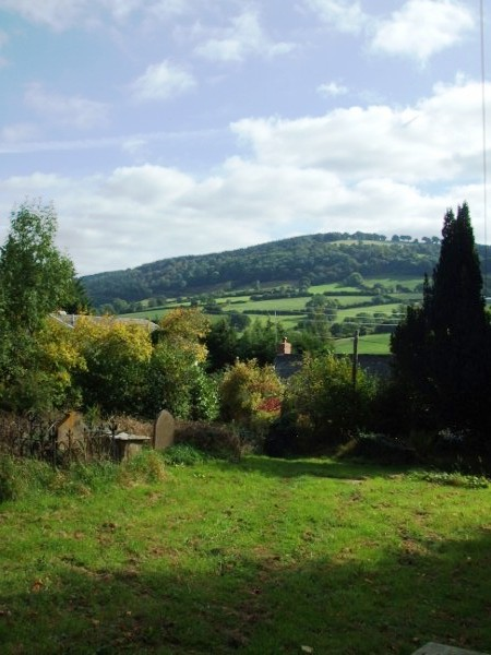 Countryside view - Grosmont, Monmouthshire