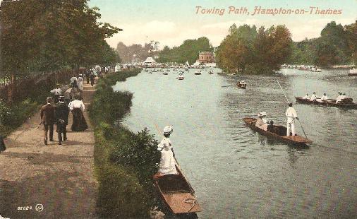 Towpath, Hampton-on-Thames