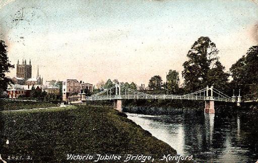 Jubilee Bridge, Hereford