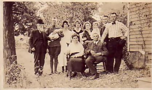 Hugh Penny Walter and the Hagerman Family