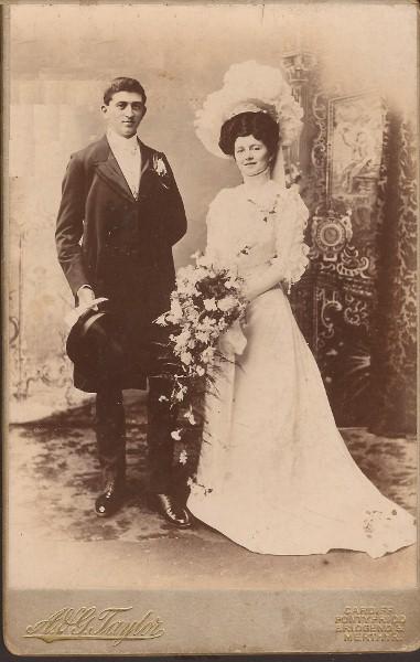 Illtid Lewis and Edith Jones
