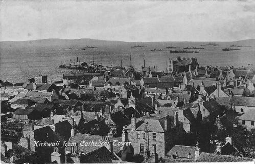 Kirkwall from the Cathedral tower