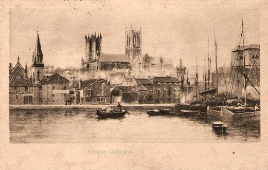 Lincoln Cathedral - 1906