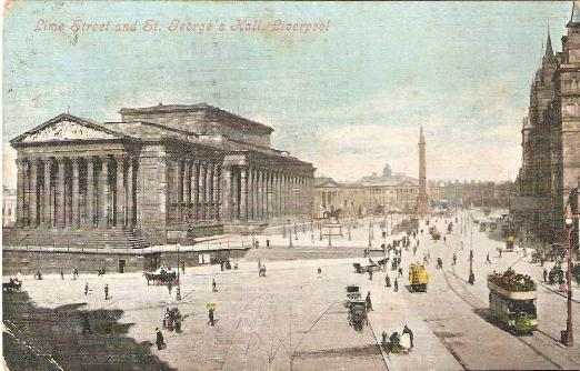 Liverpool Lime Street and St George's Hall