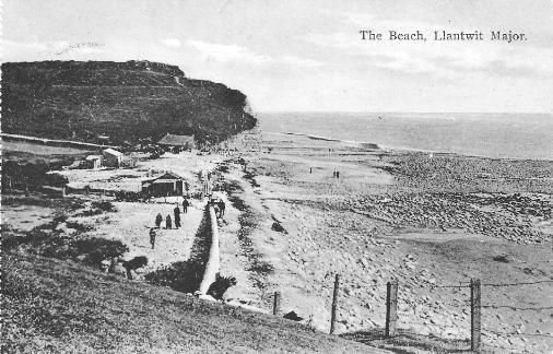 Beach at Llantwit Major