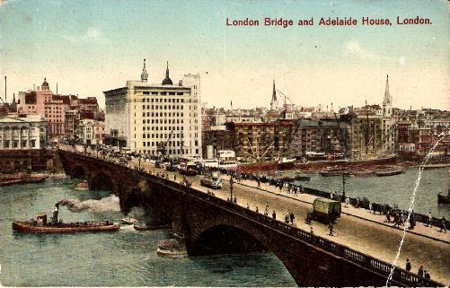 London Bridge and Adelaide House